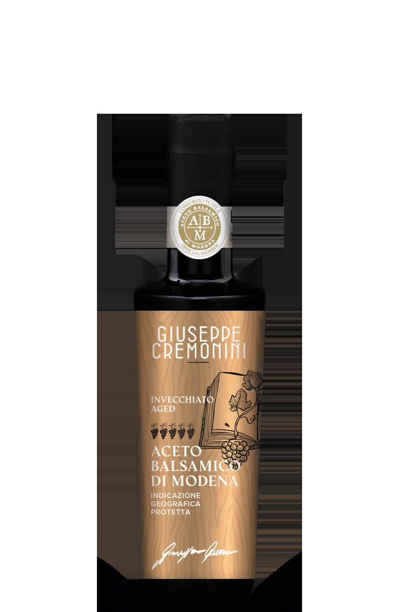 Aceto Balsamico di Modena IGP - Invecchiato - 5 grappoli