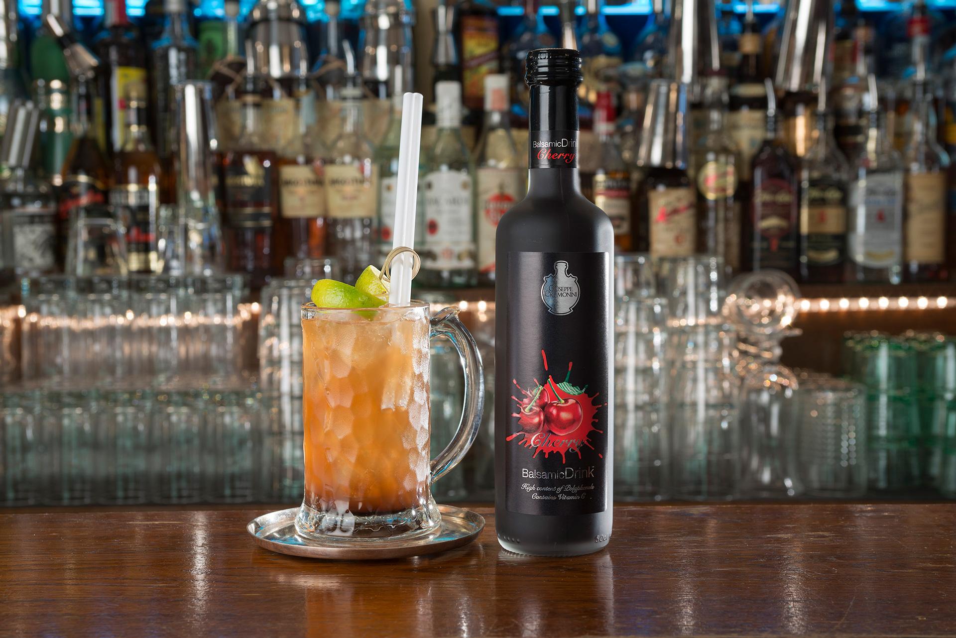 BalsamicDrink cocktail - Lemon Cherry